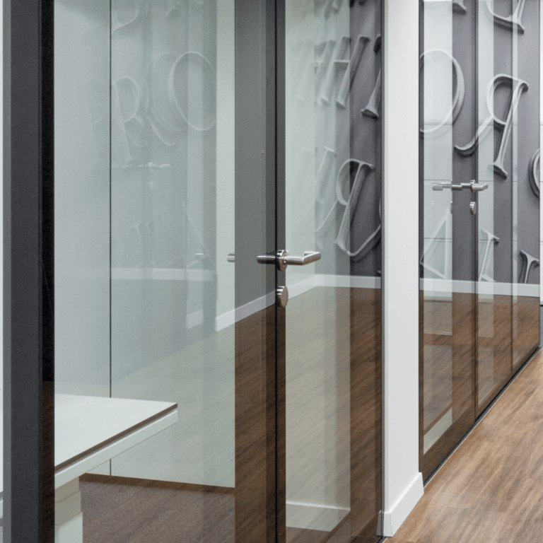 Glasmarte, Büro, Glas, Glaswände
